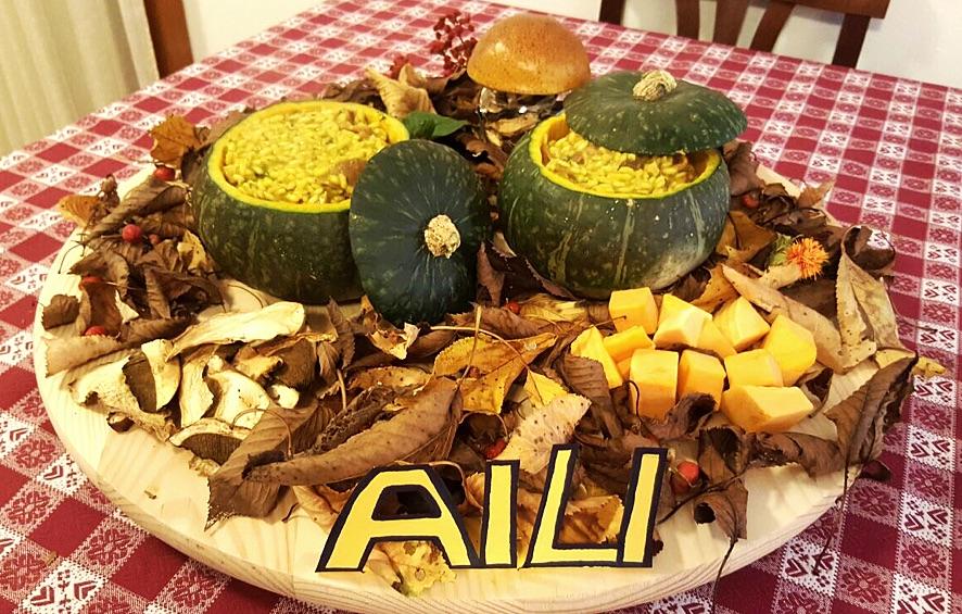 Risotto d'autunno per gli amici di AILI