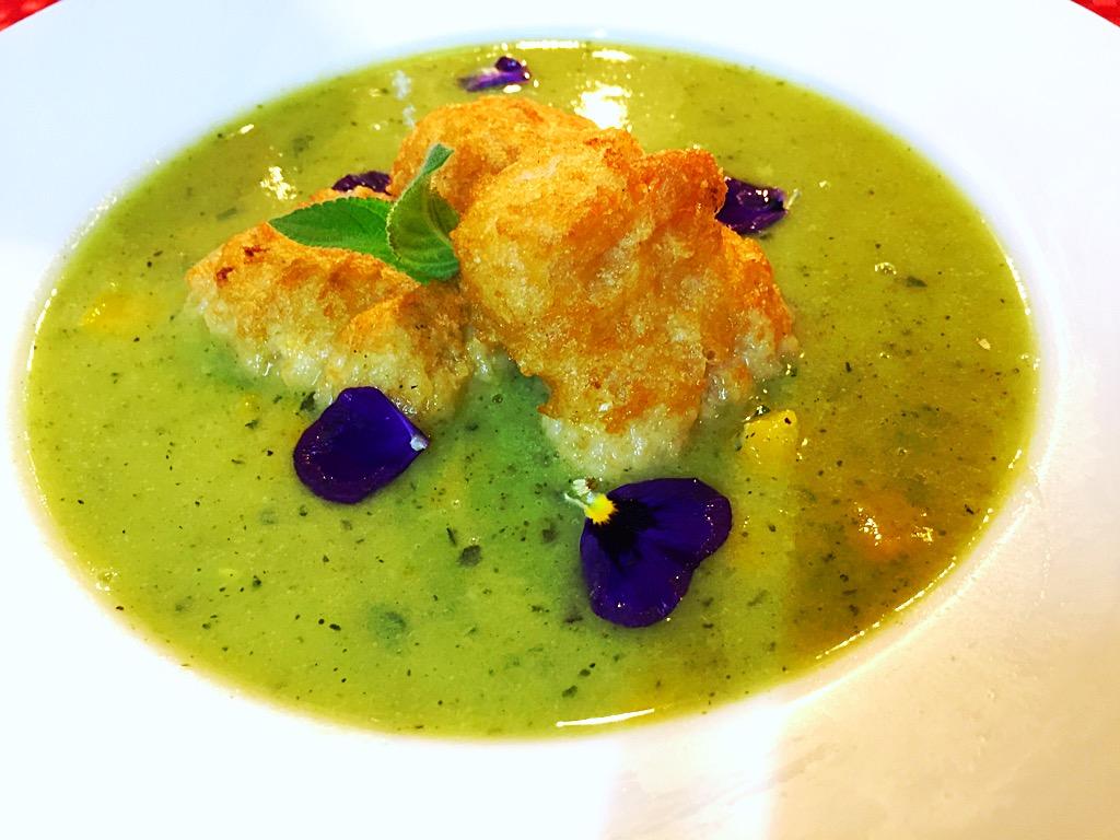 Zuppa zucchine zucca e merluzzo 1