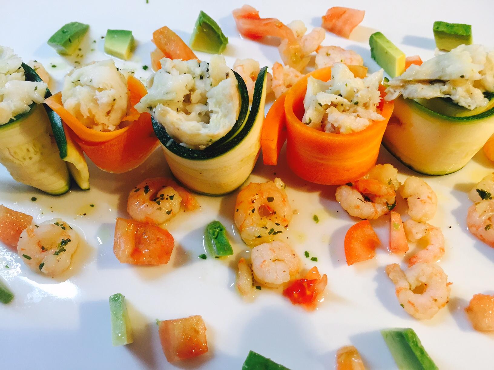 Involtini carote zucchine e merluzzo2