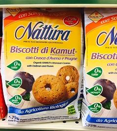 Biscotti di Kamut Nattura - lattosio 0% Image