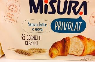 Cornetti Privolat - lattosio 0% Image