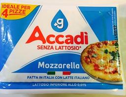 Mozzarella per pizza Accadì Granarolo - lattosio <0,01 Image