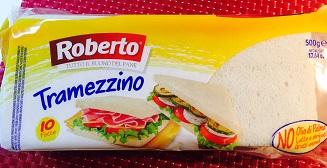 Pane per tramezzini Roberto - lattosio 0% Image