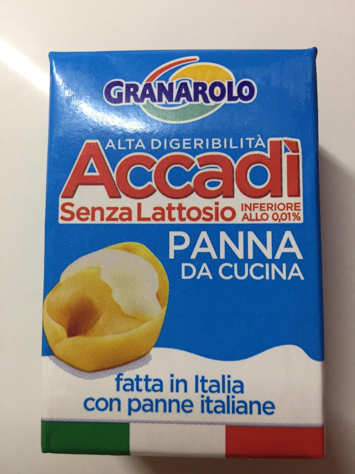 Panna da cucina Accadì - lattosio <0,01 Image