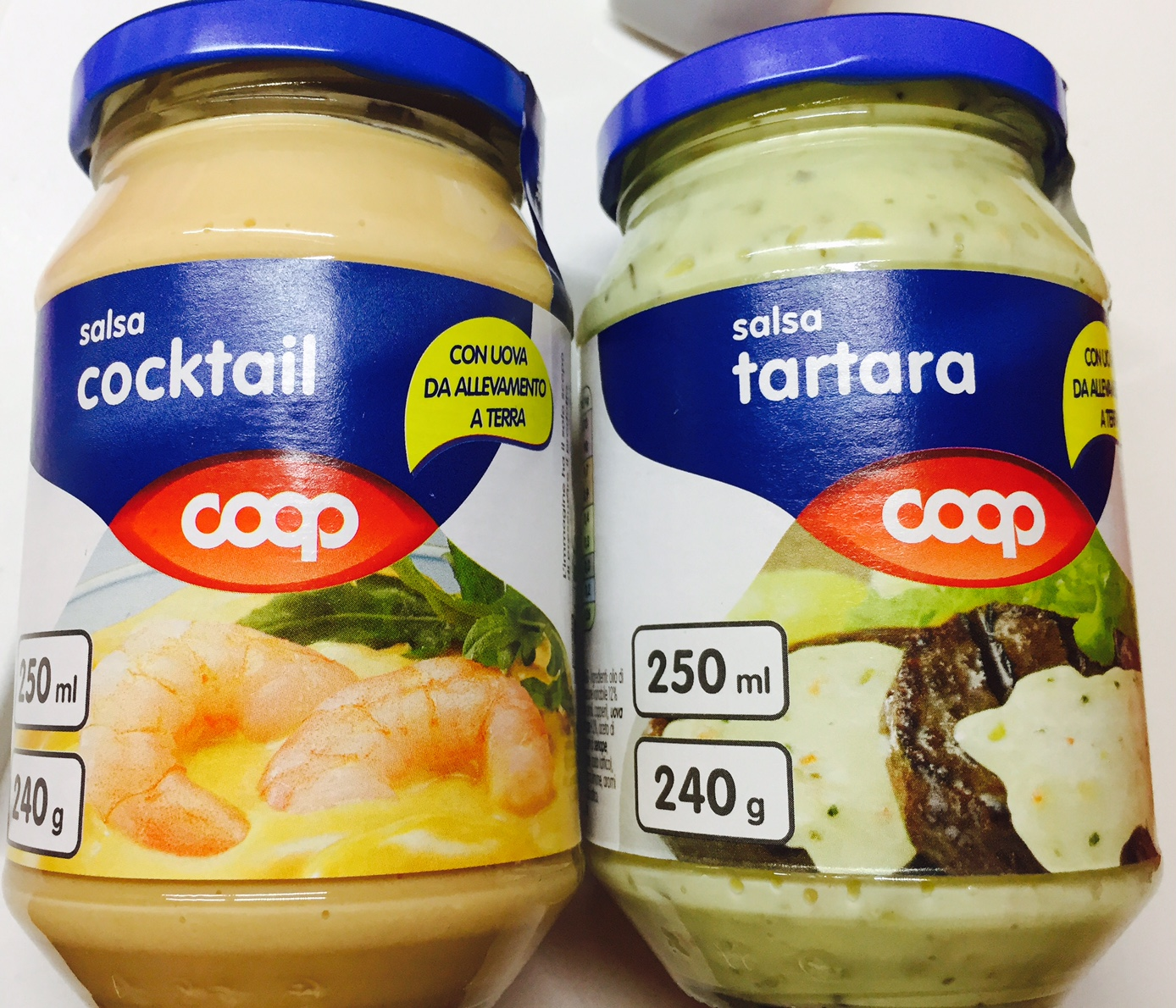 Salsa tartara e salsa cocktail Coop - lattosio 0% Image