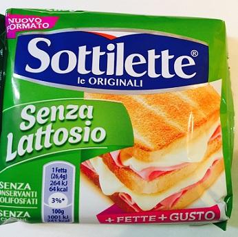 Sottilette - lattosio <0,1 Image