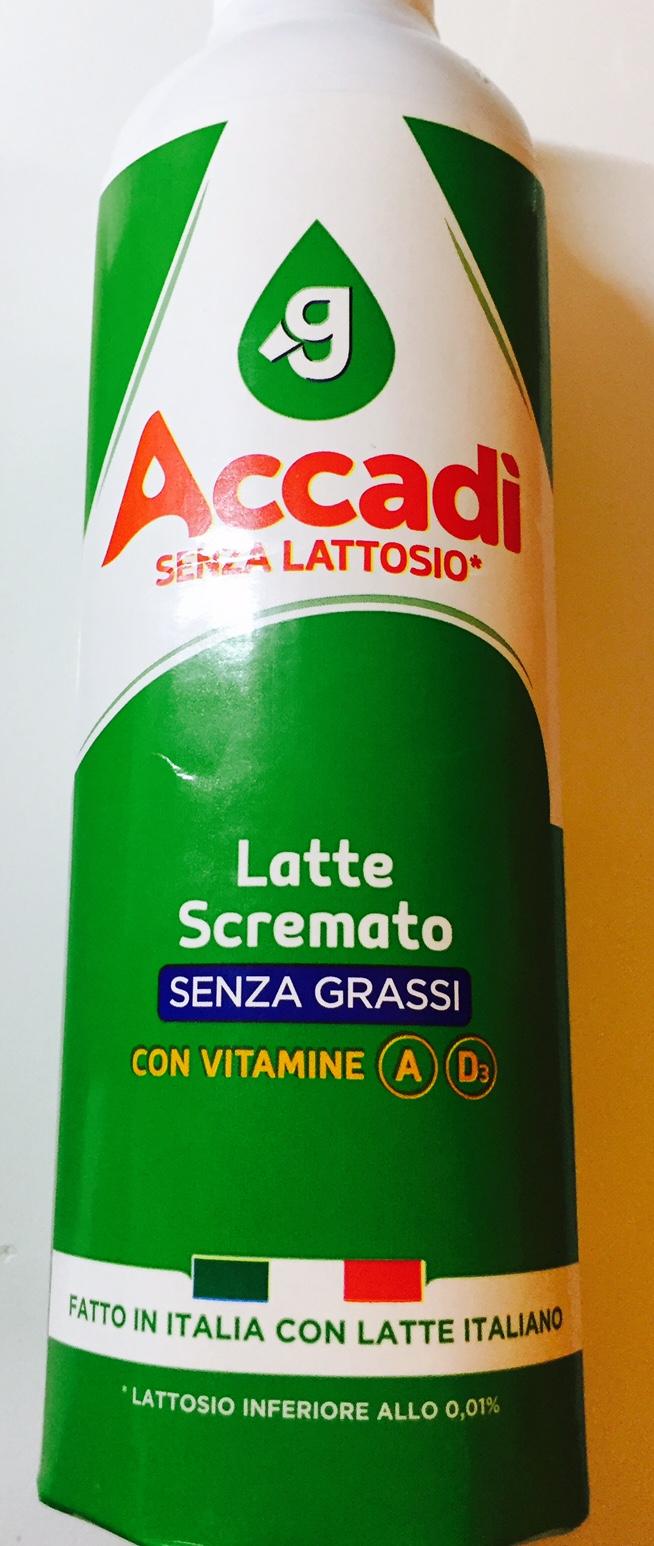Latte Accadì scremato - lattosio <0,01 Image