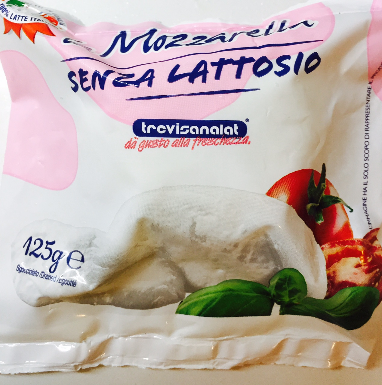 Mozzarella Trevisanalat - lattosio <0,01 Image