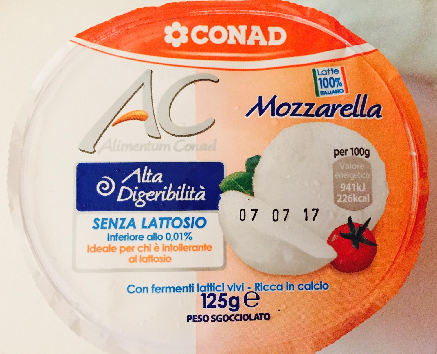 Mozzarella Conad - lattosio <0,01 Image
