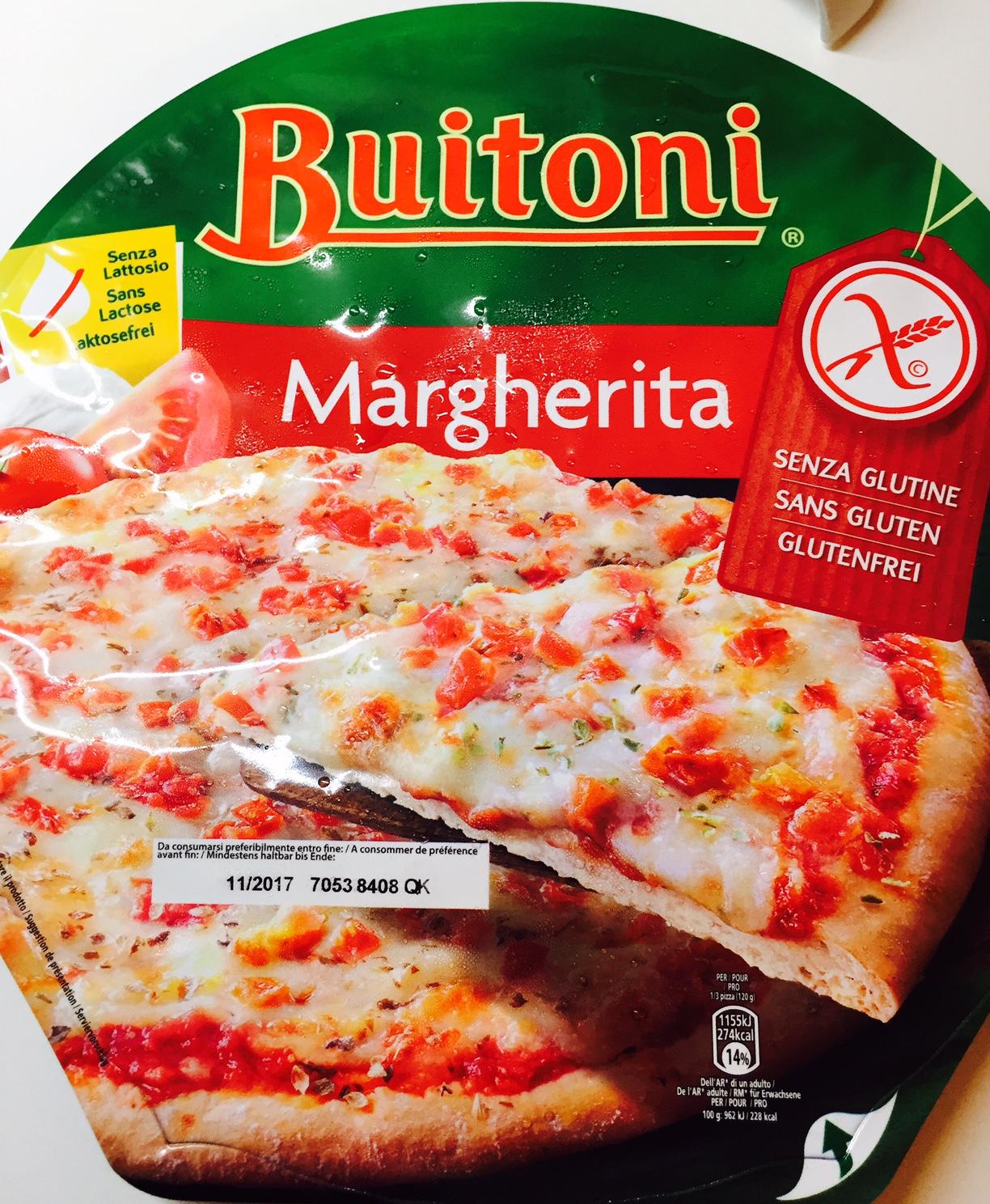 Pizza senza lattosio Buitoni - lattosio < 0,1 Image