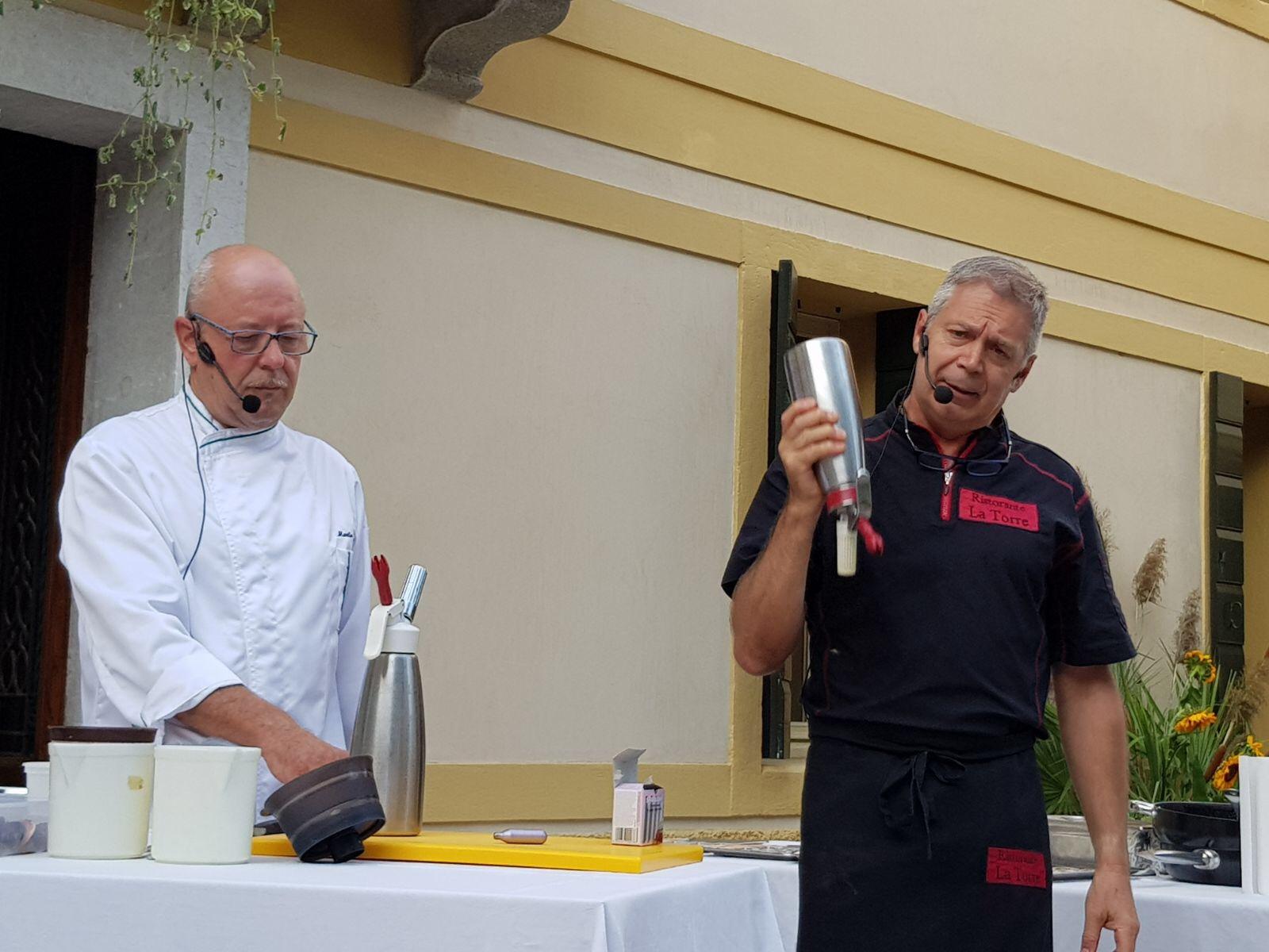 Figomoro showcooking di Manlio Signora e Marco Talamini