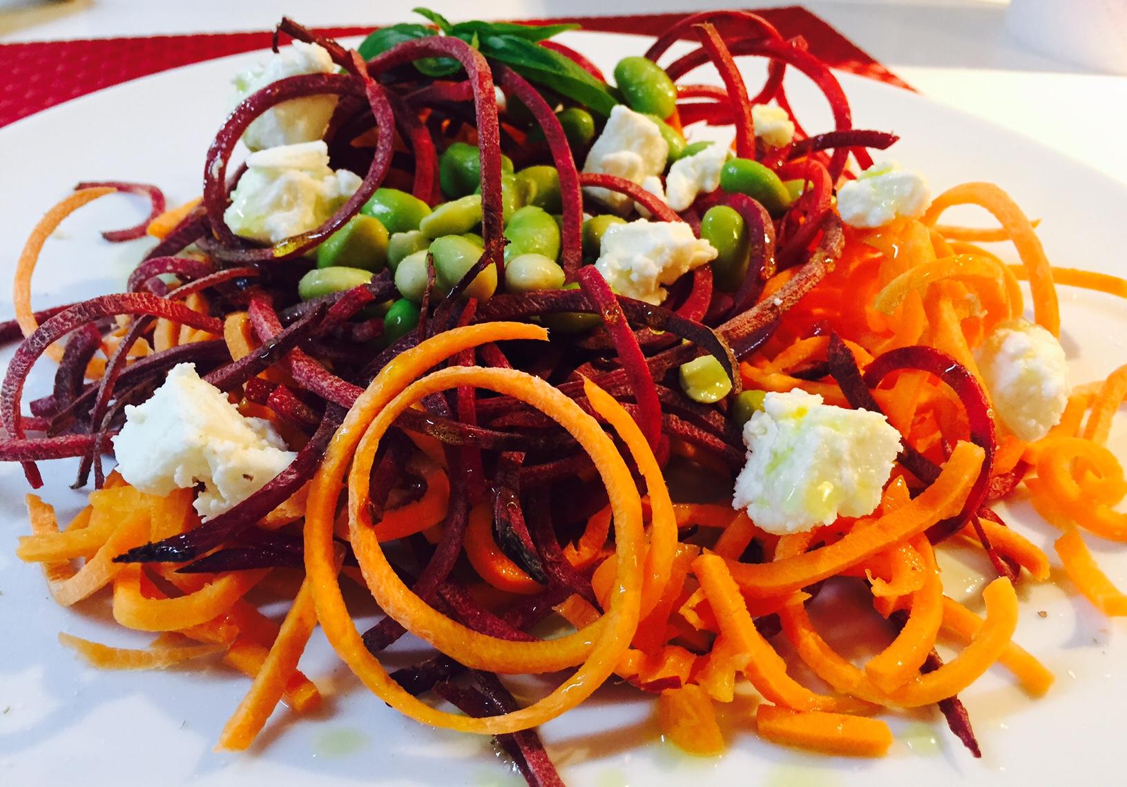 Spaghetti di verdure ricette senza lattosio for Ricette di verdure