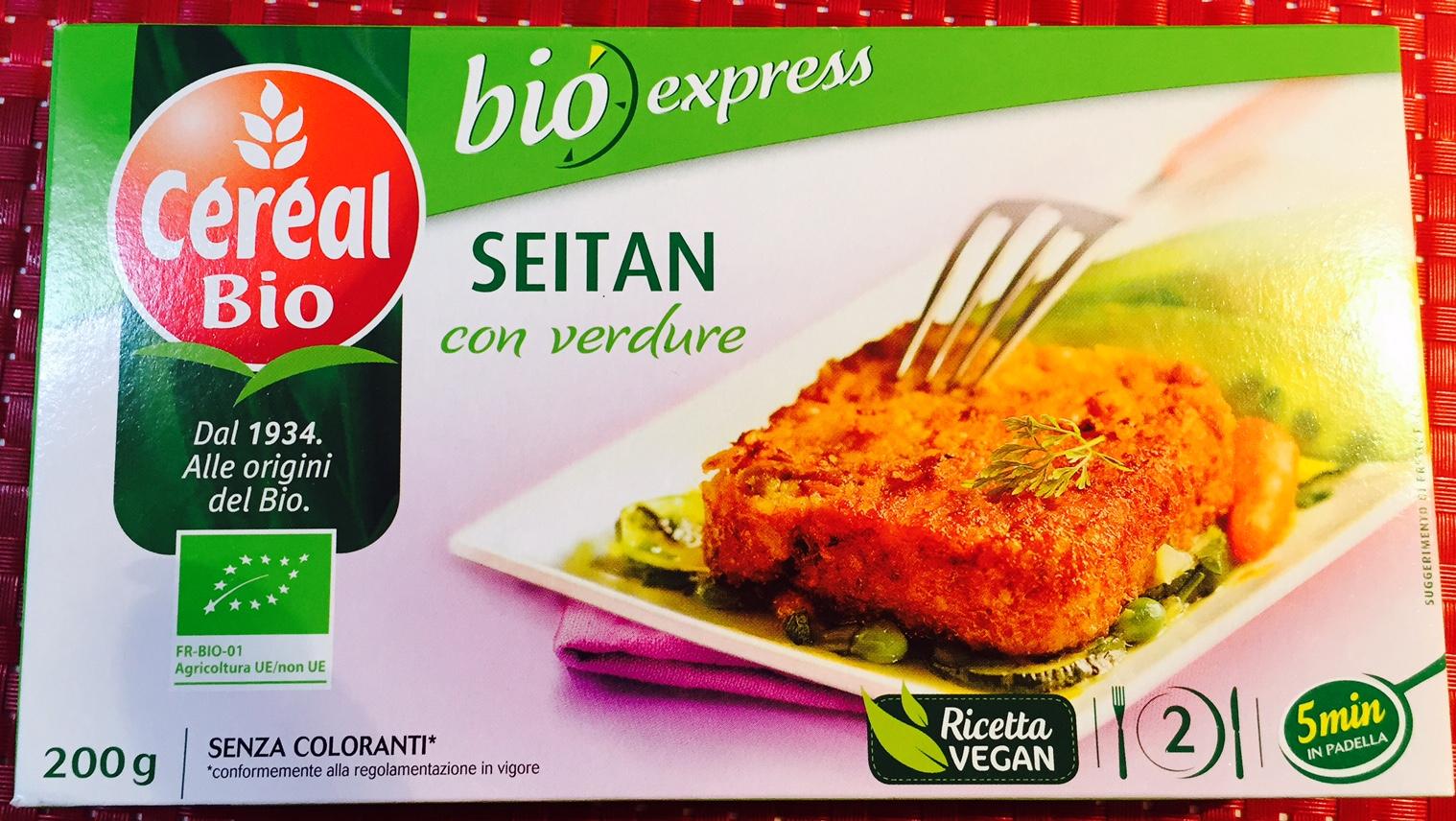 Seitan con verdure Cereal Bio - lattosio 0% Image