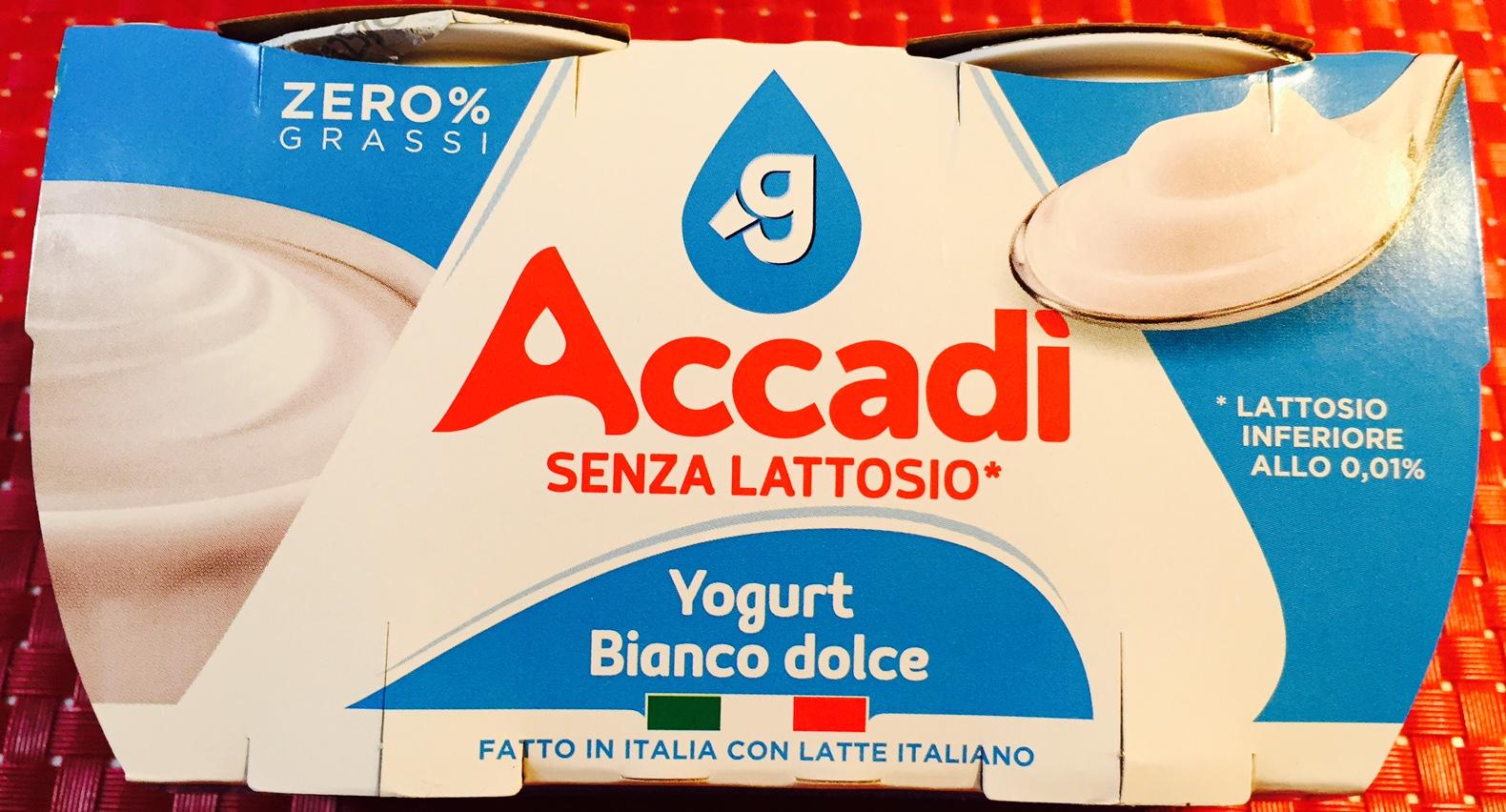 Yogurt Accadì senza lattosio - lattosio <0,01 Image