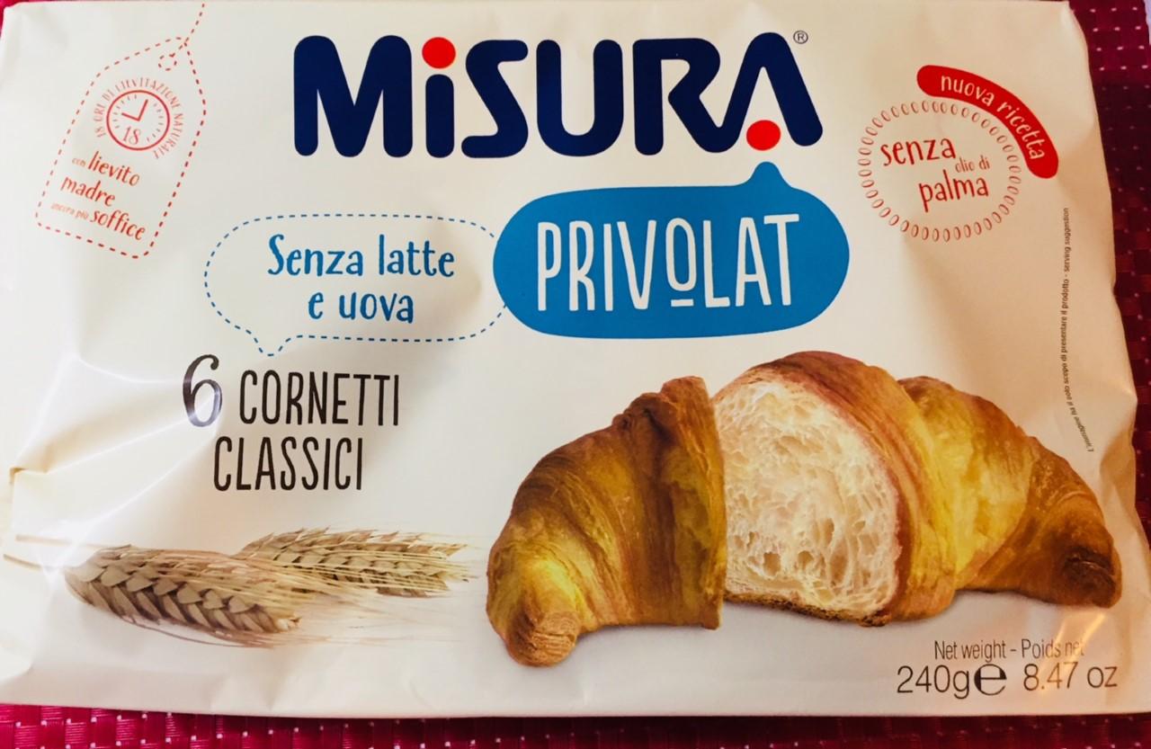 Cornetti Privolat Misura - lattosio 0% Image