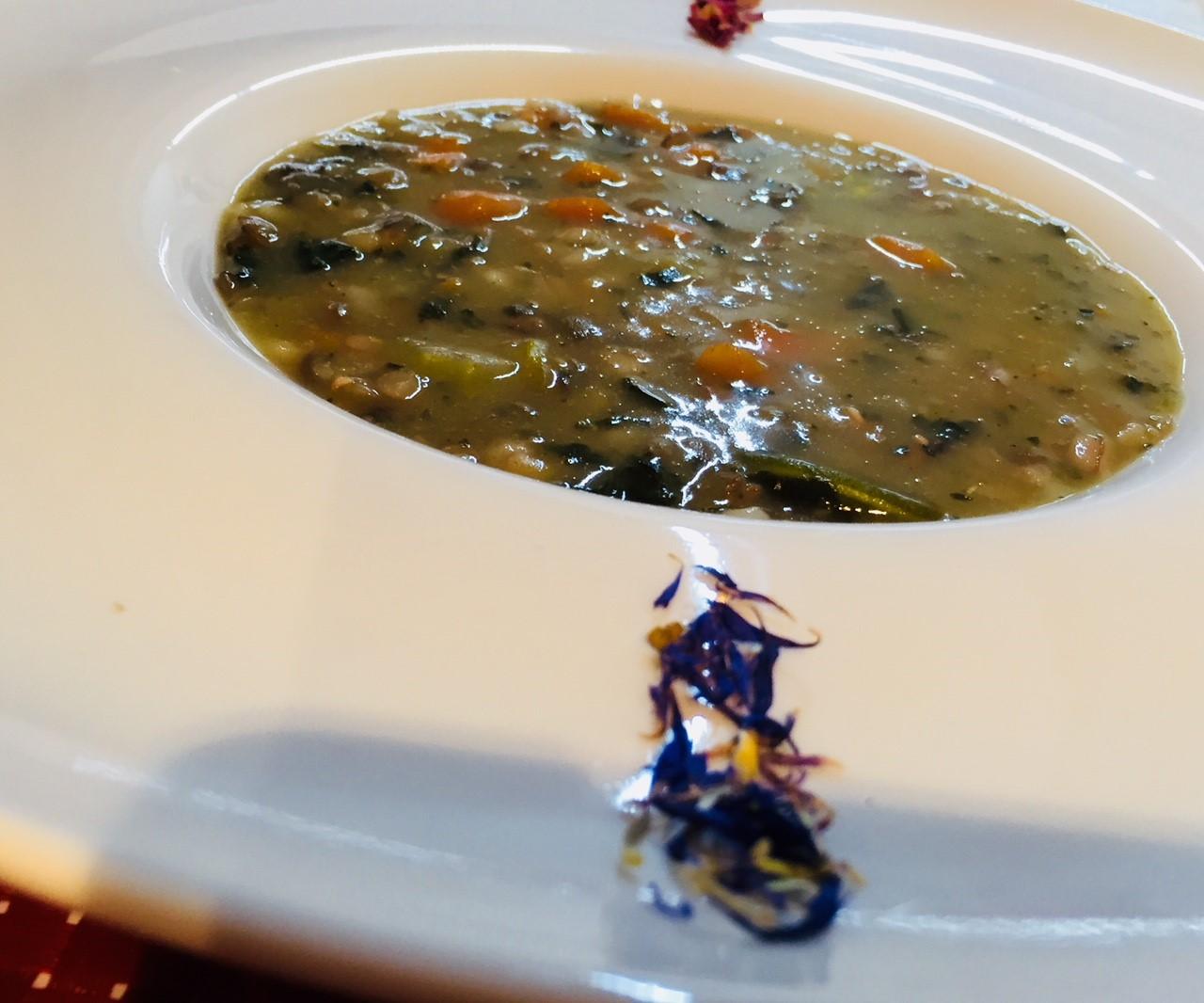 Zuppa legumi e verdure2