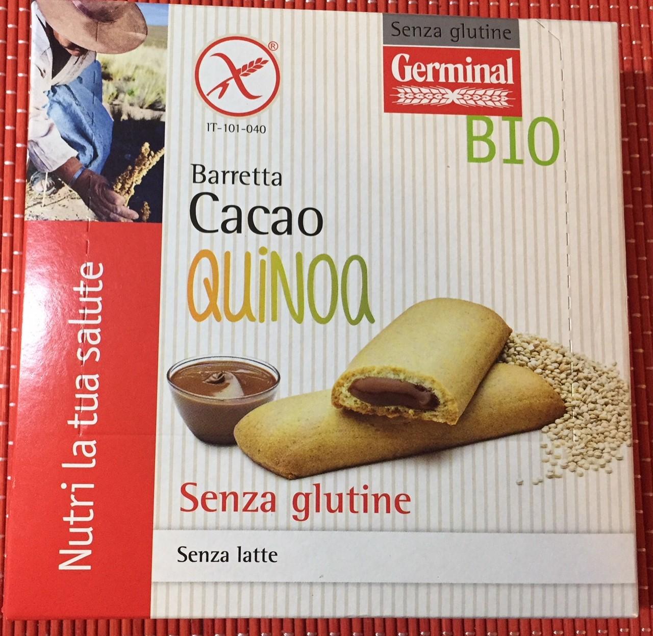 Barretta cacao quinoa Germinal - lattosio 0% Image
