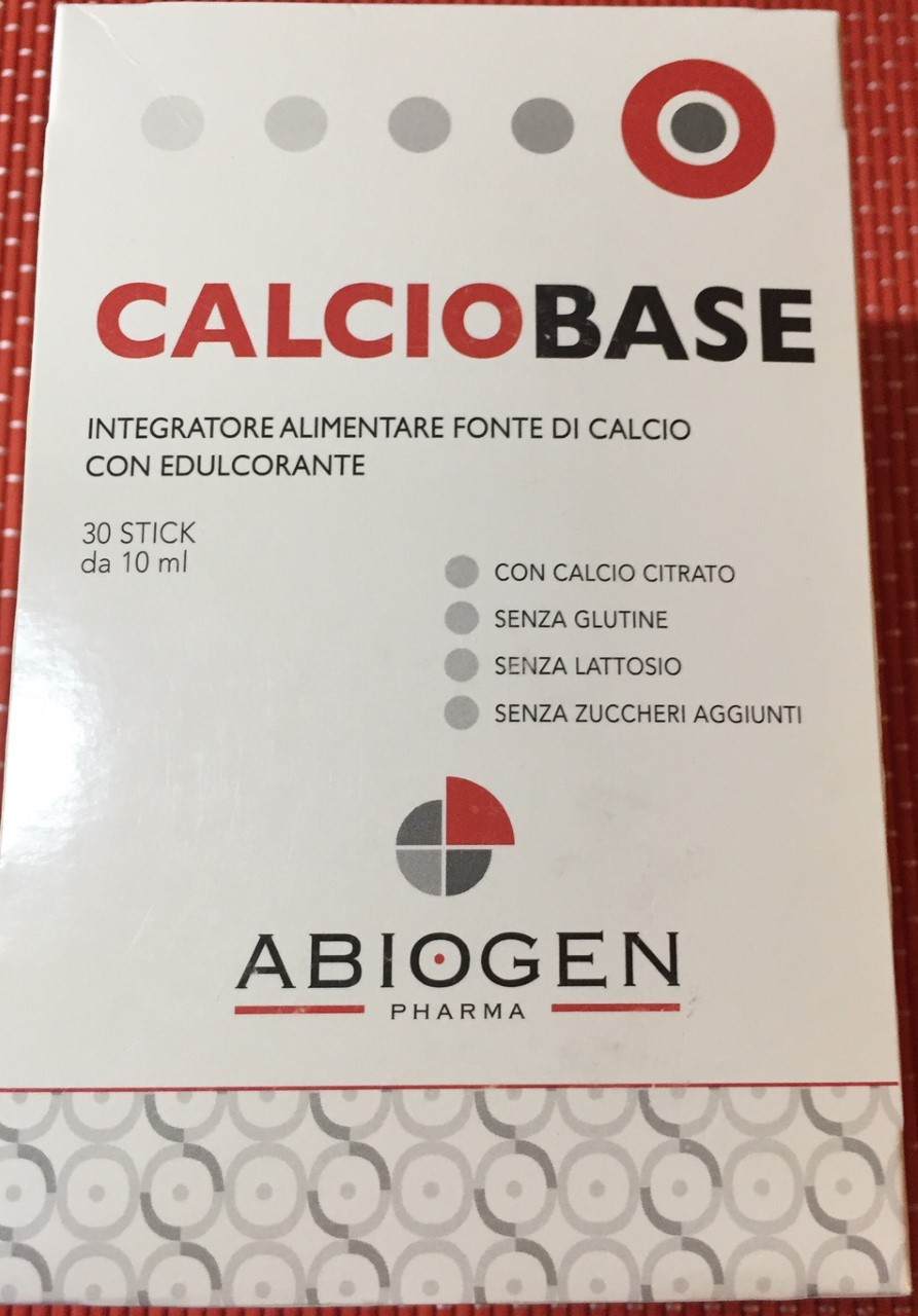 Calcio base Abiogen - lattosio 0% Image