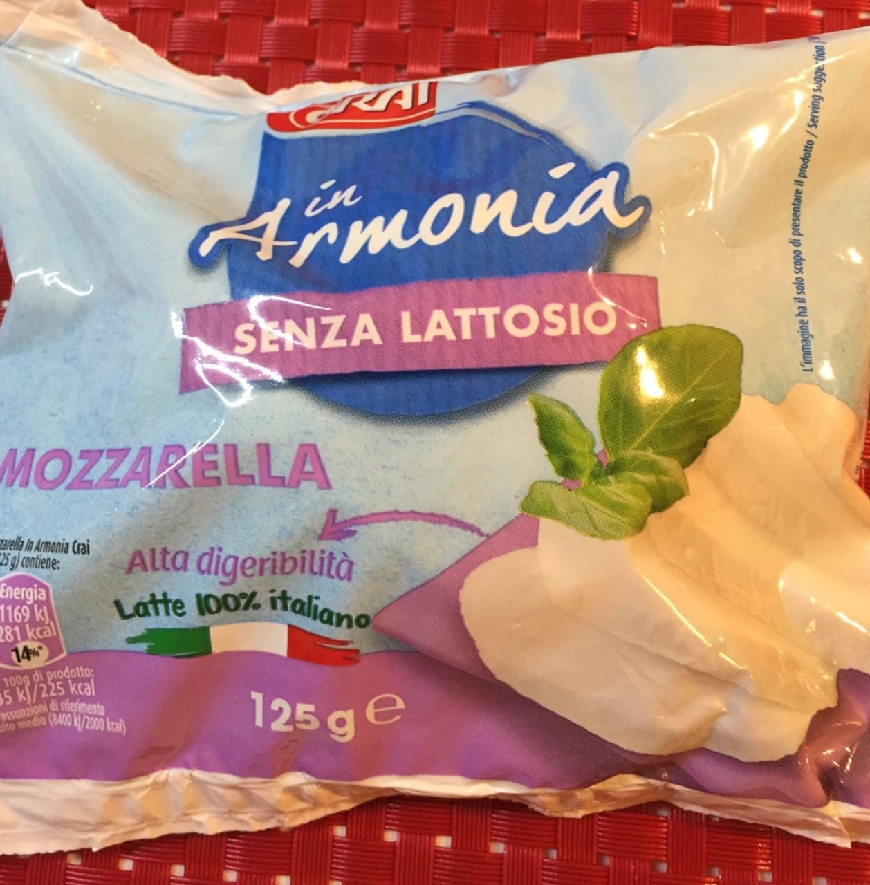 Mozzarella in armonia Crai - lattosio <0,01 Image