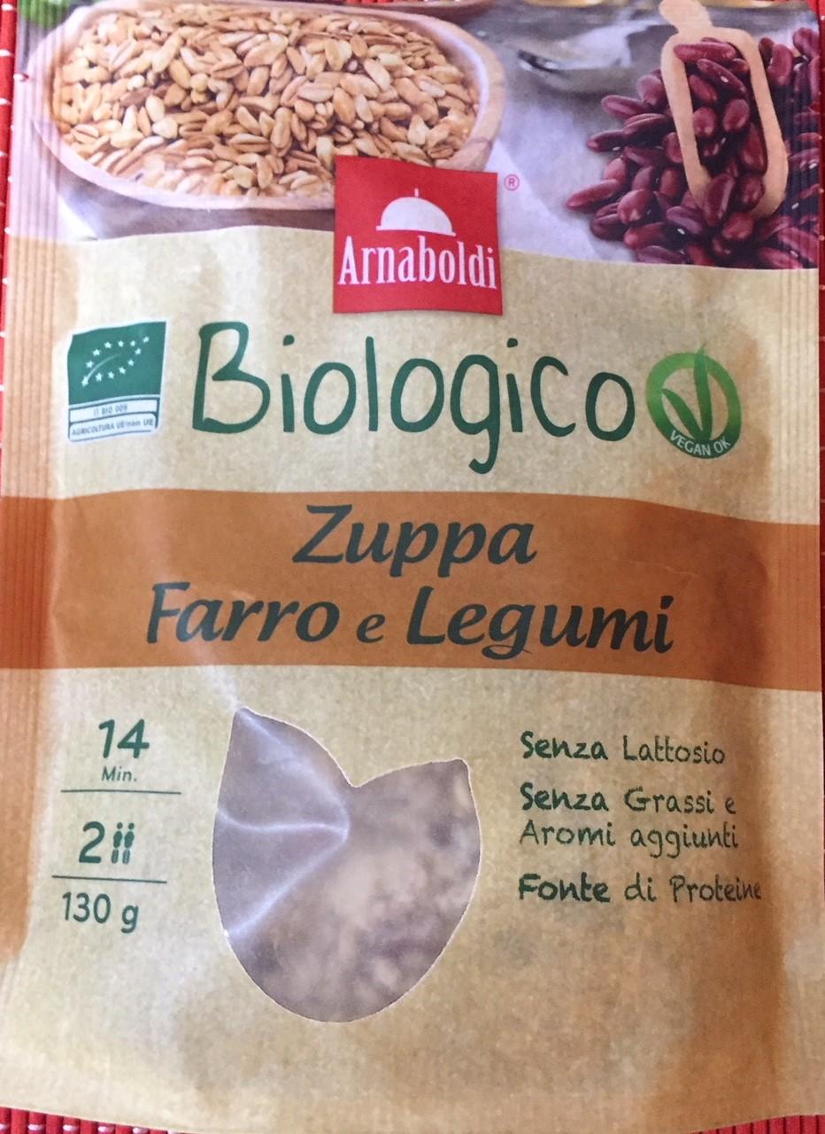 Zuppa farro e legumi Arnaboldi - lattosio 0% Image