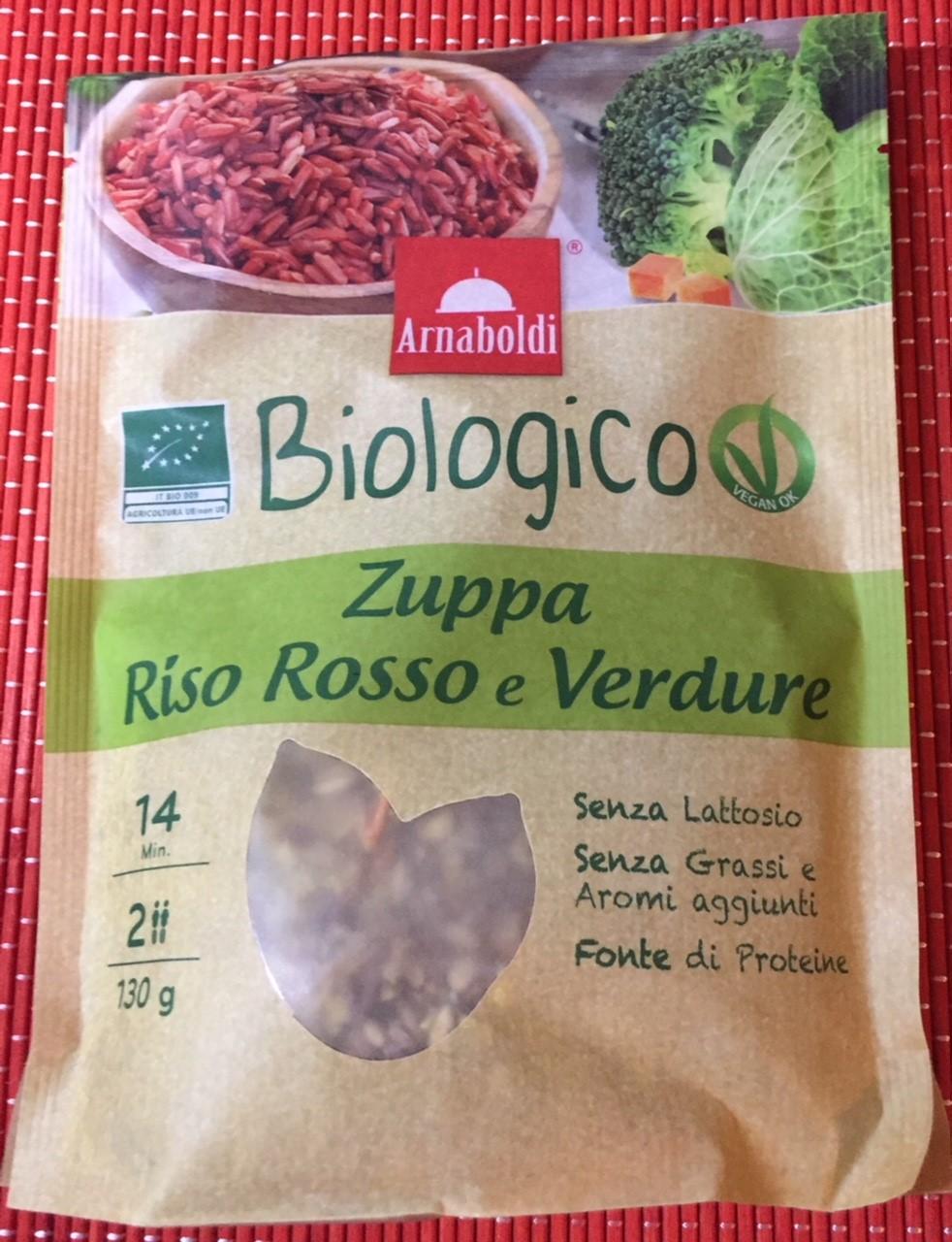 Zuppa riso rosso e verdure Arnaboldi - lattosio 0% Image