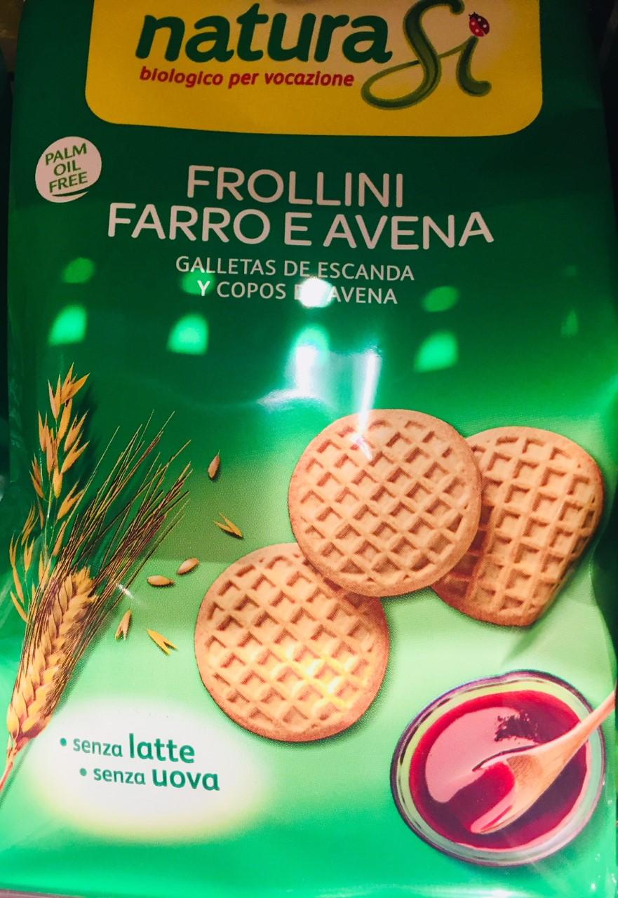 Frollini farro e avena Naturasì - lattosio 0% Image