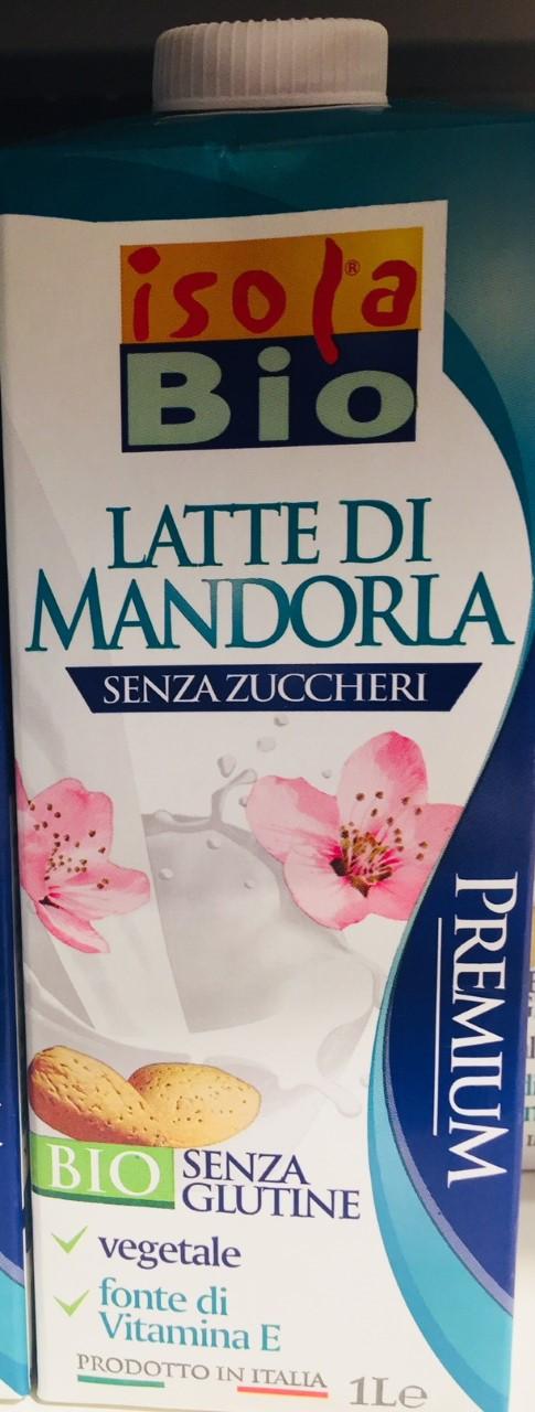 Latte di mandorla Isola Bio - lattosio 0% Image
