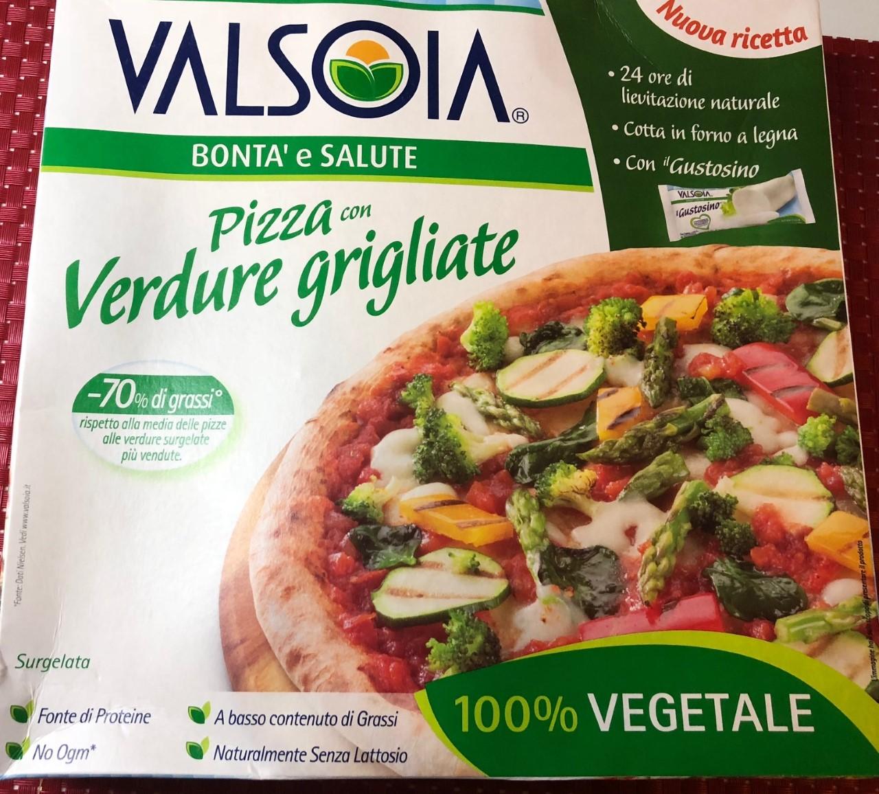 Pizza Valsoia alle verdure - lattosio 0% Image