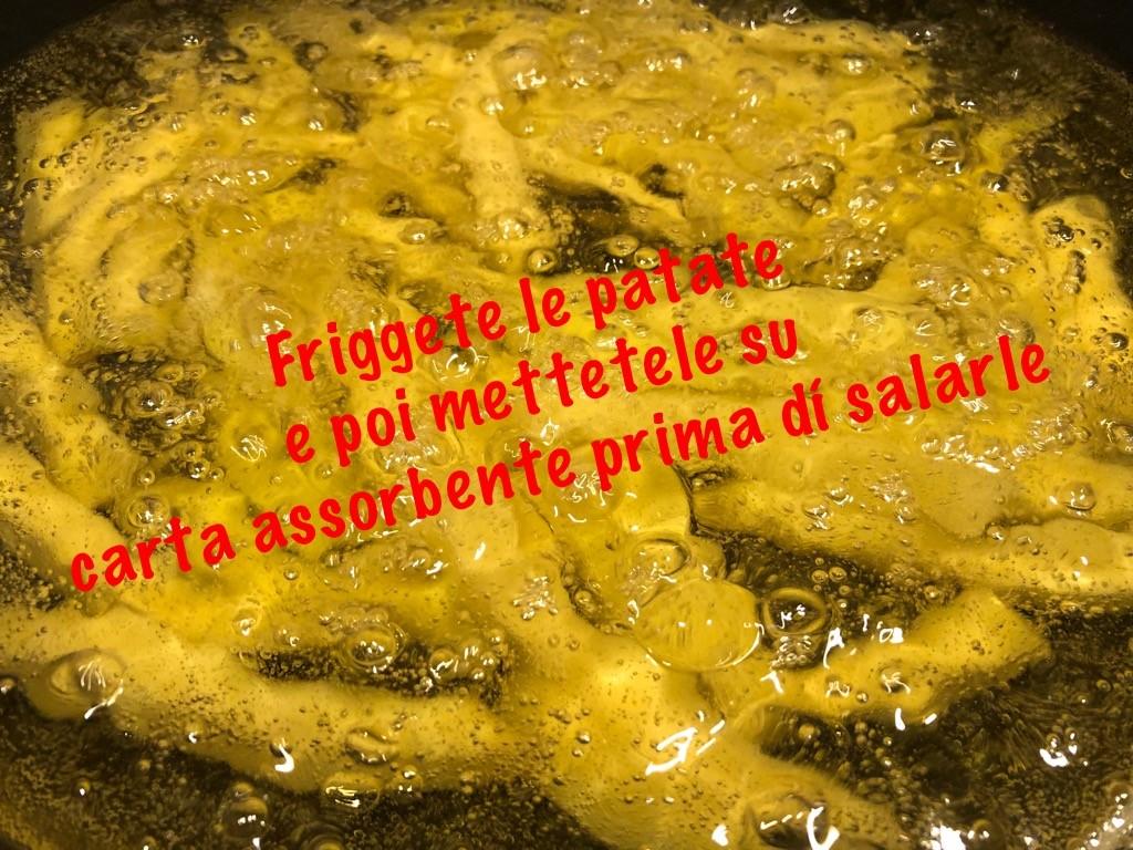 Polpette e patatine fritte 10