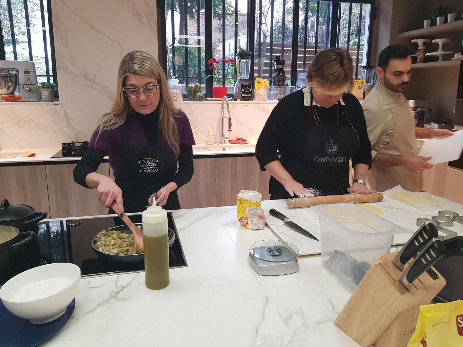 Corso di cucina da Sonia Peronaci