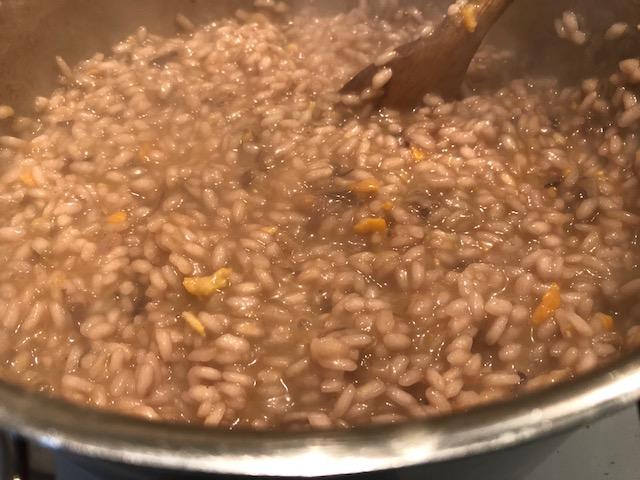 mantecare col burro vegetale