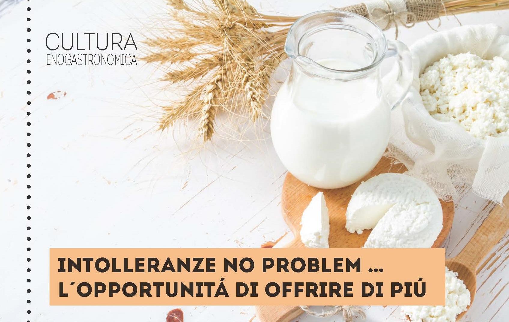 intolleranza al lattosio: non è un problema