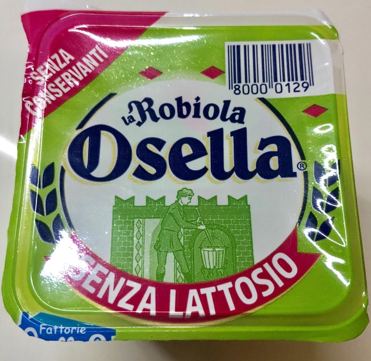 Robiola Osella senza lattosio - lattosio <0,01 Image