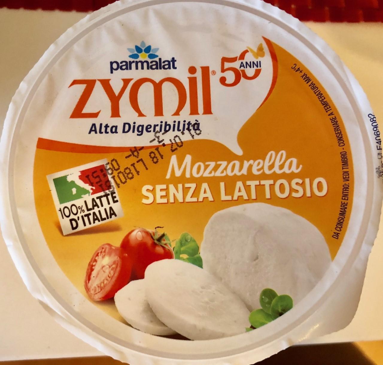 Mozzarella Zymil senza lattosio - lattosio <0,1 Image