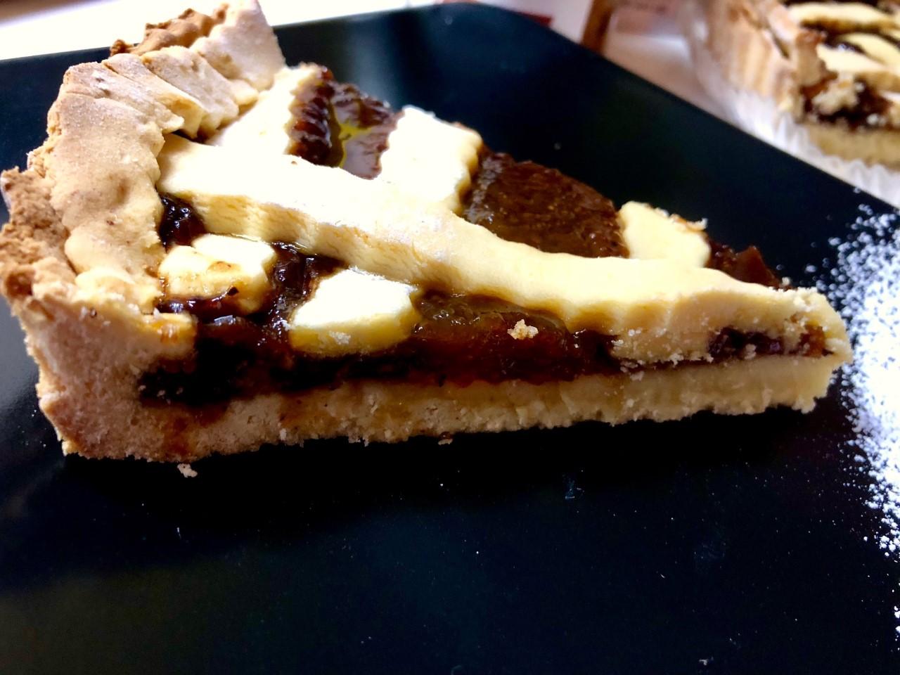 Crostata al CiocoMoro senza lattosio e senza glutine