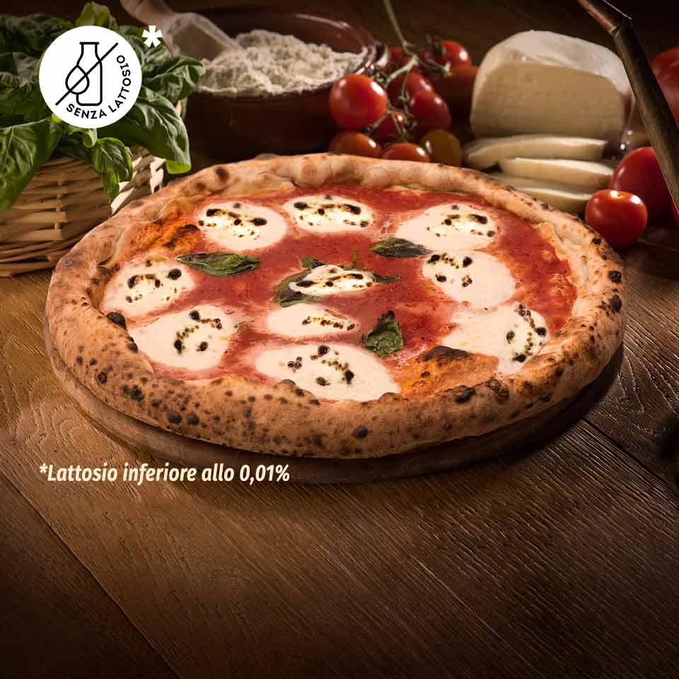 Pizza senza lattosio A Pizza - lattosio <0,01 Image
