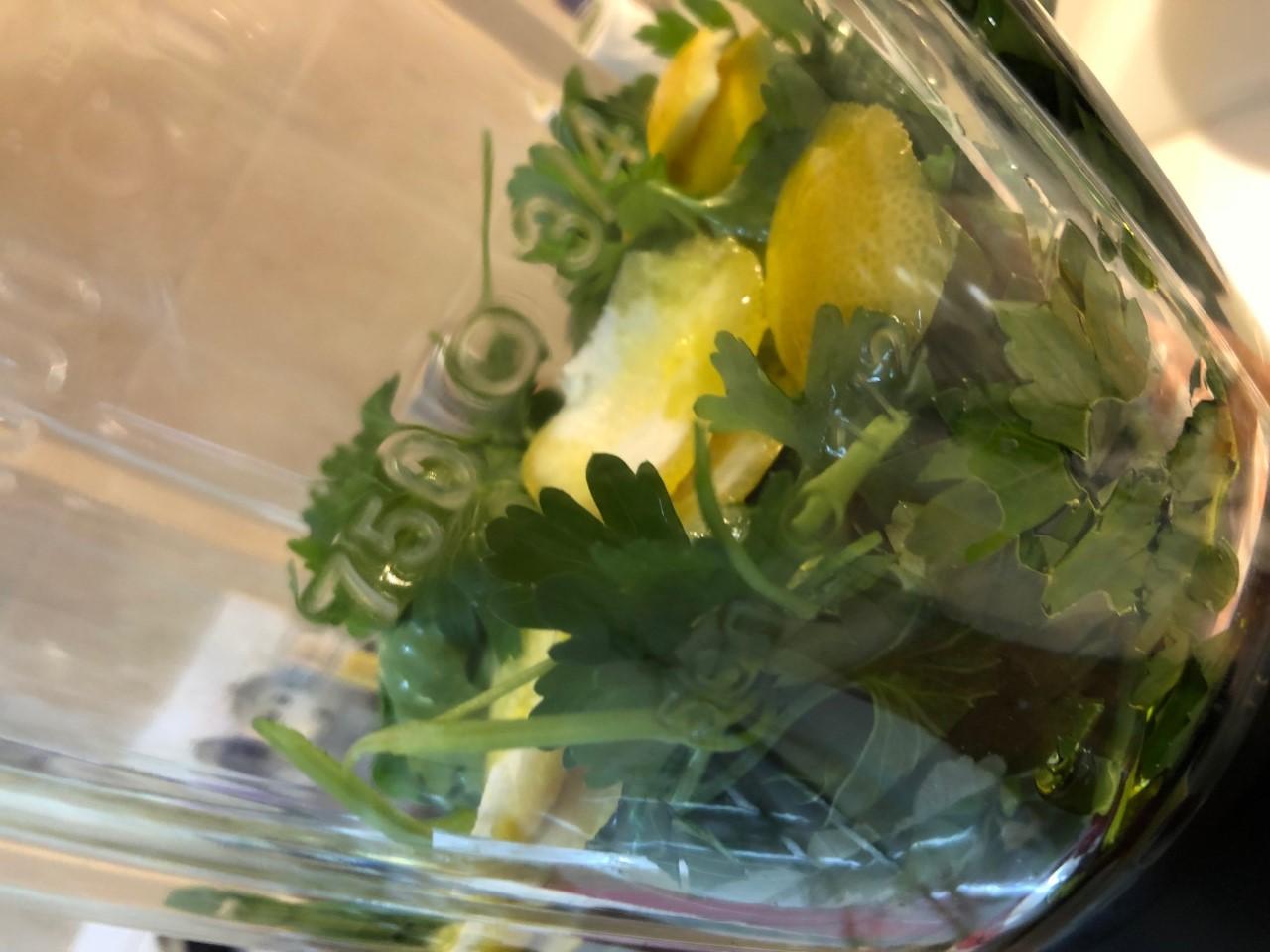 Tritoprezzemolo limone aglio