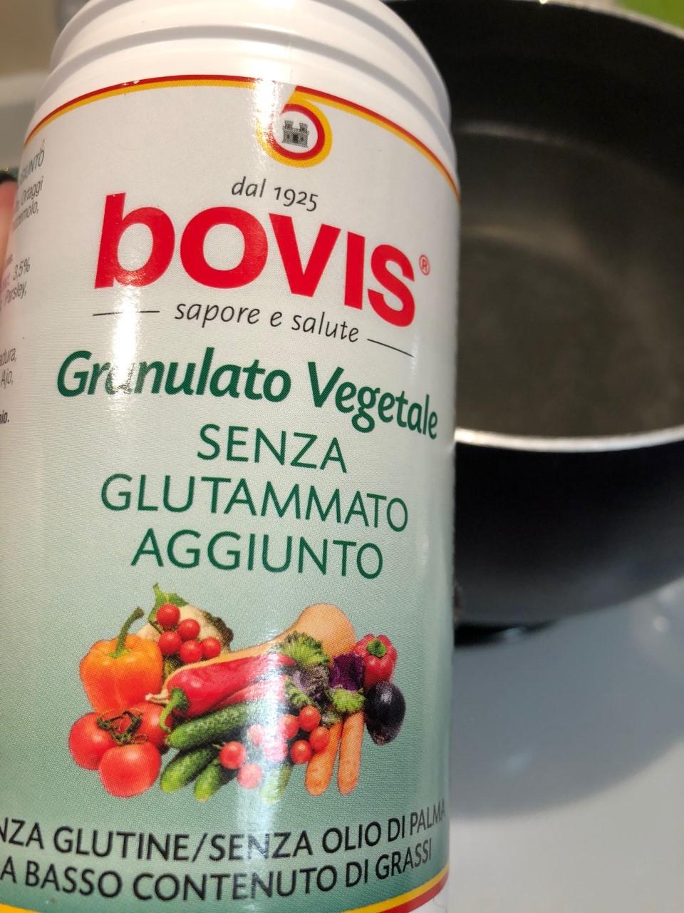 Risotto funghi e zucca granulato Bovis