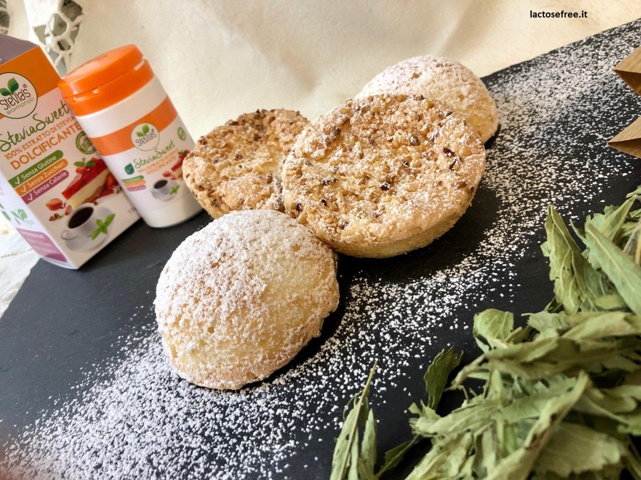 Biscotti leggeri alle nocciole con stevia1