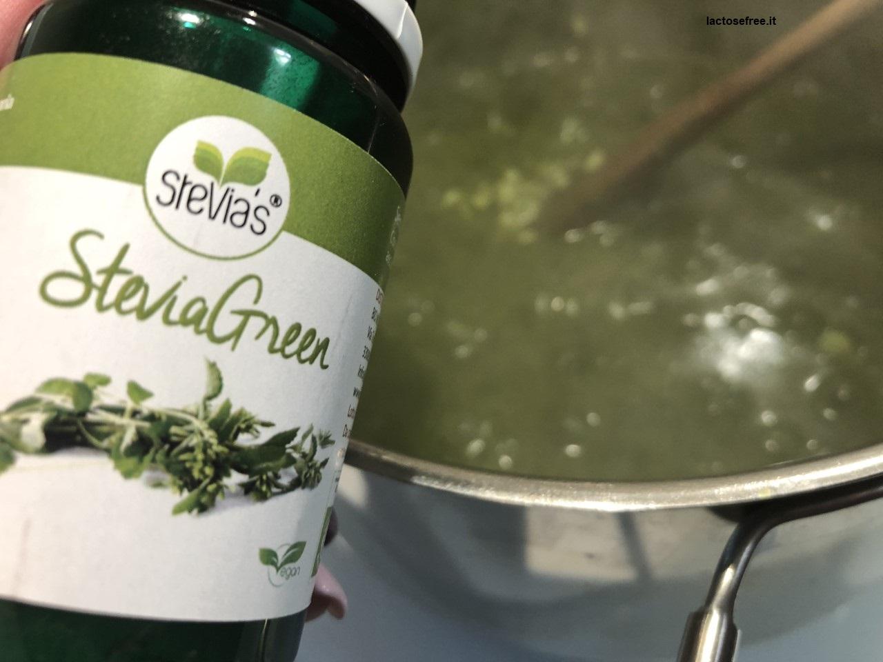 Risotto al cavolo nero stevia e limone_aggiunta stevia biomondo2