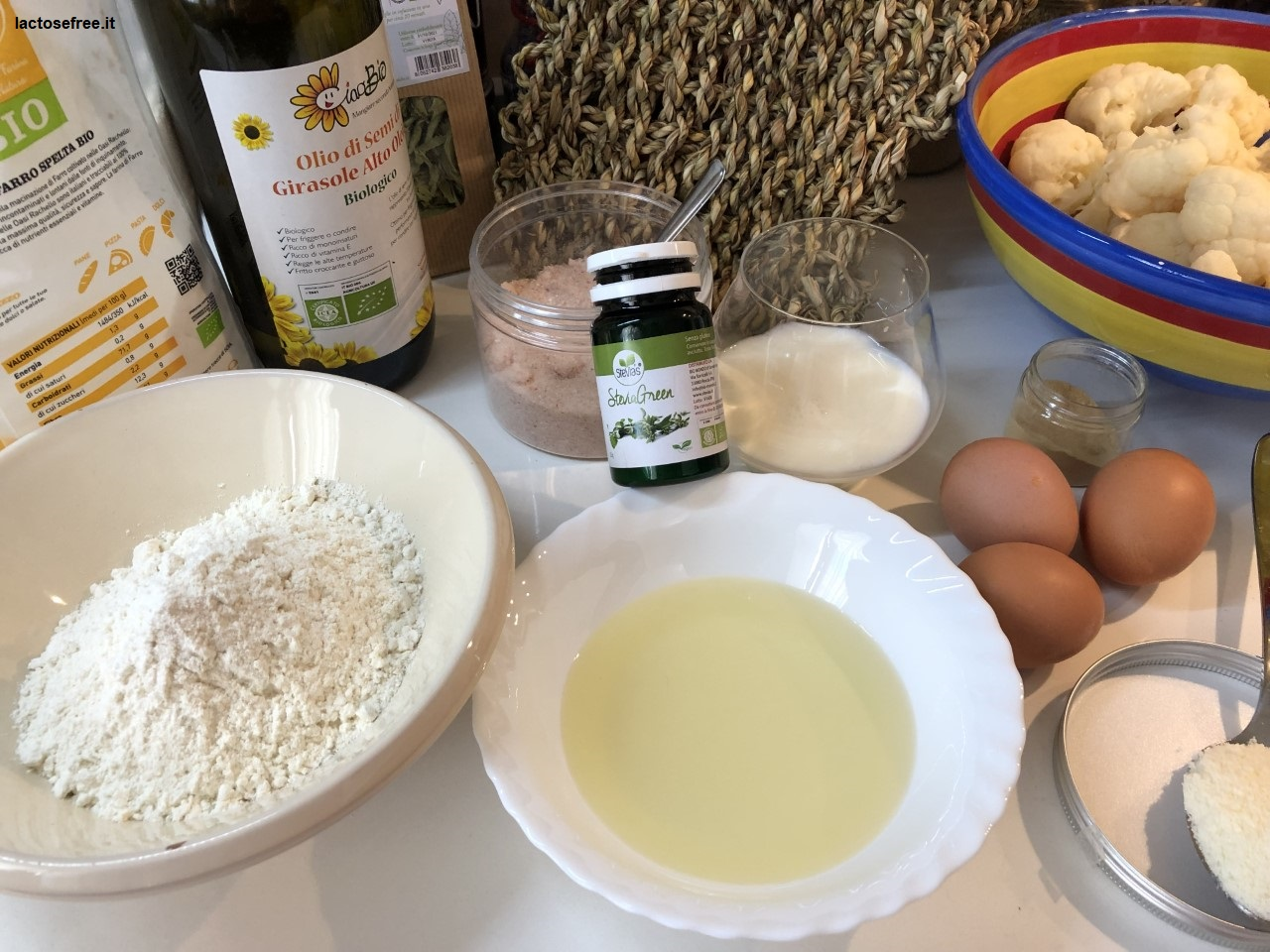 Muffin salati al cavolfiore e stevia 1