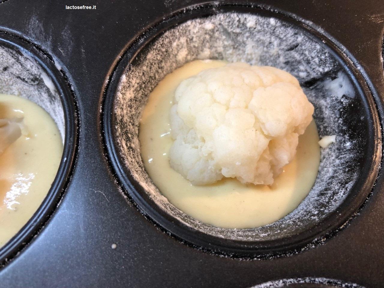 Muffin salati al cavolfiore e stevia 18