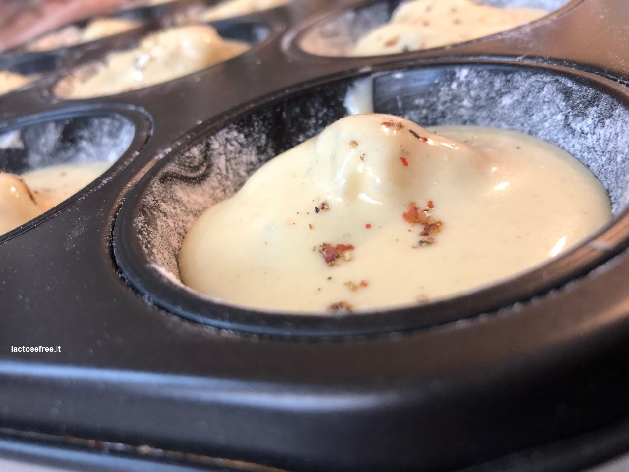 Muffin salati al cavolfiore e stevia 21