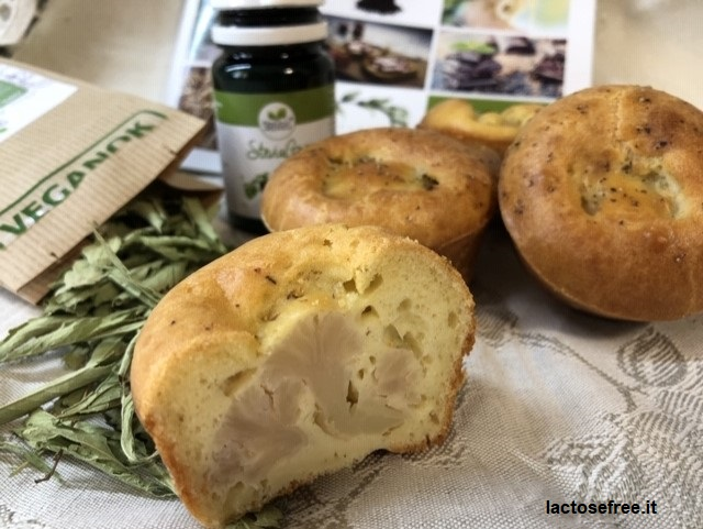 Muffin salati al cavolfiore e stevia 26