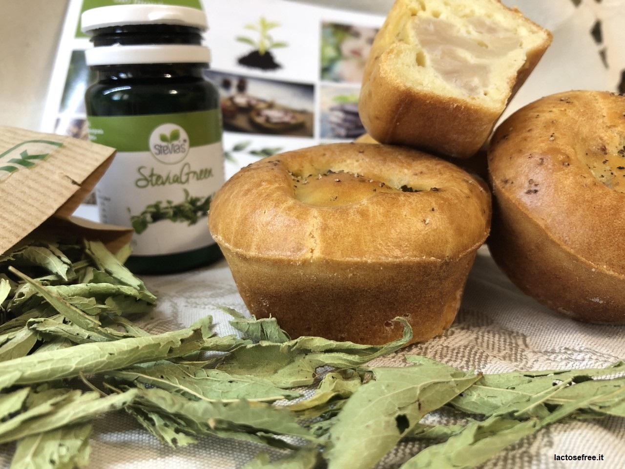 Muffin salati al cavolfiore e stevia 31