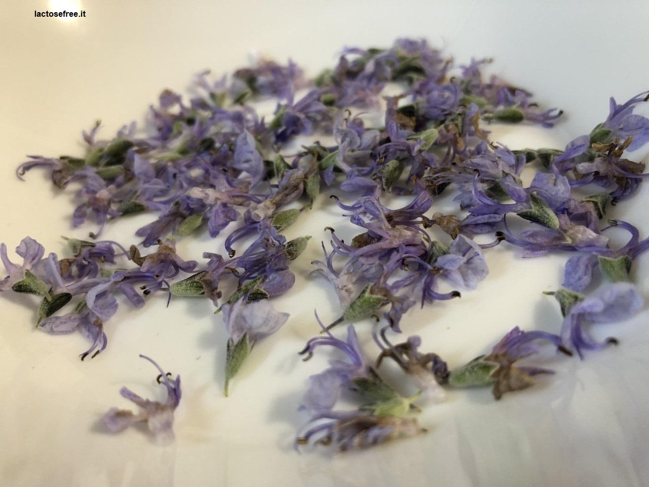 Risotto al rosmarino e i suoi fiori 4