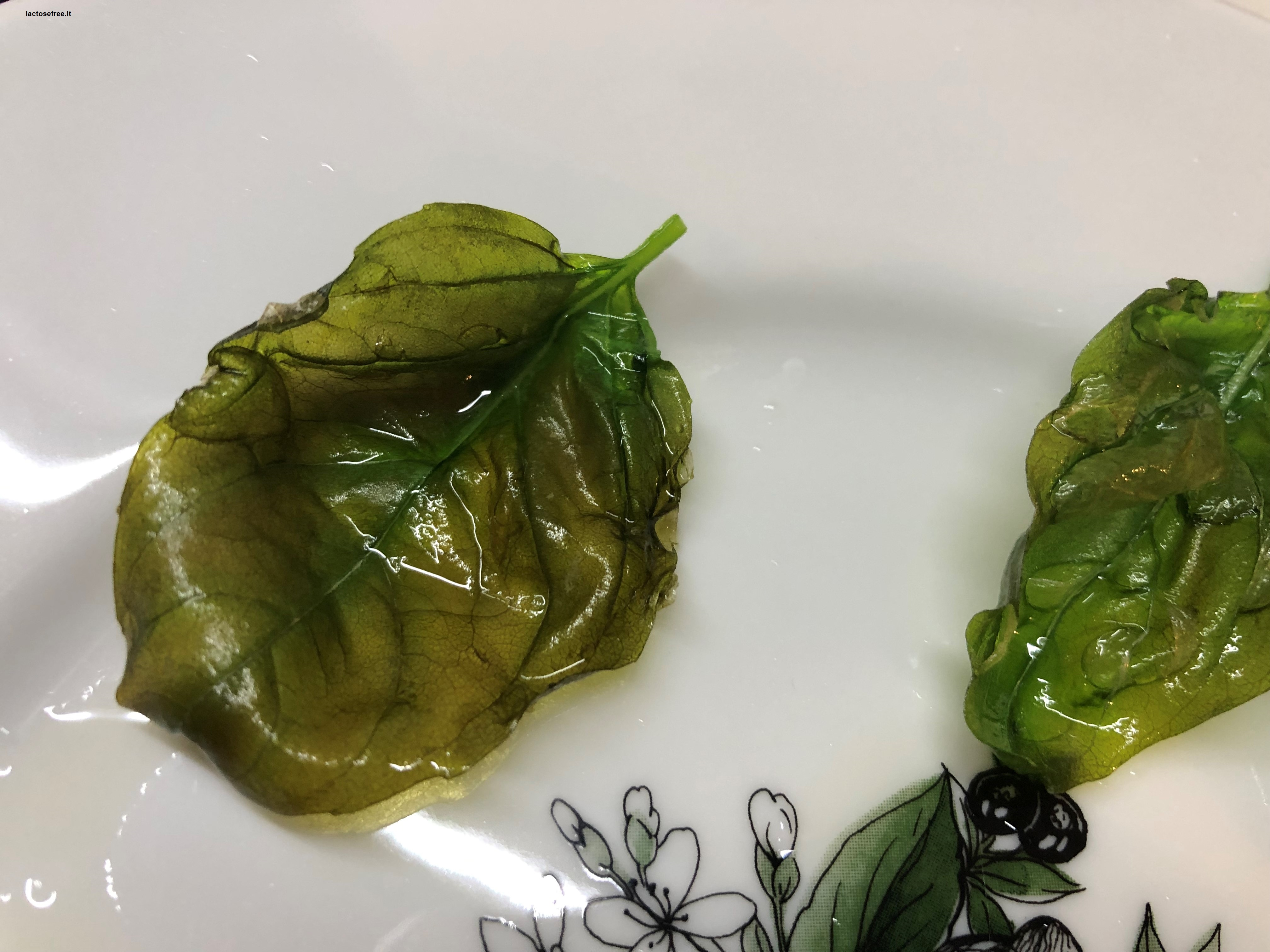 basilico fritto