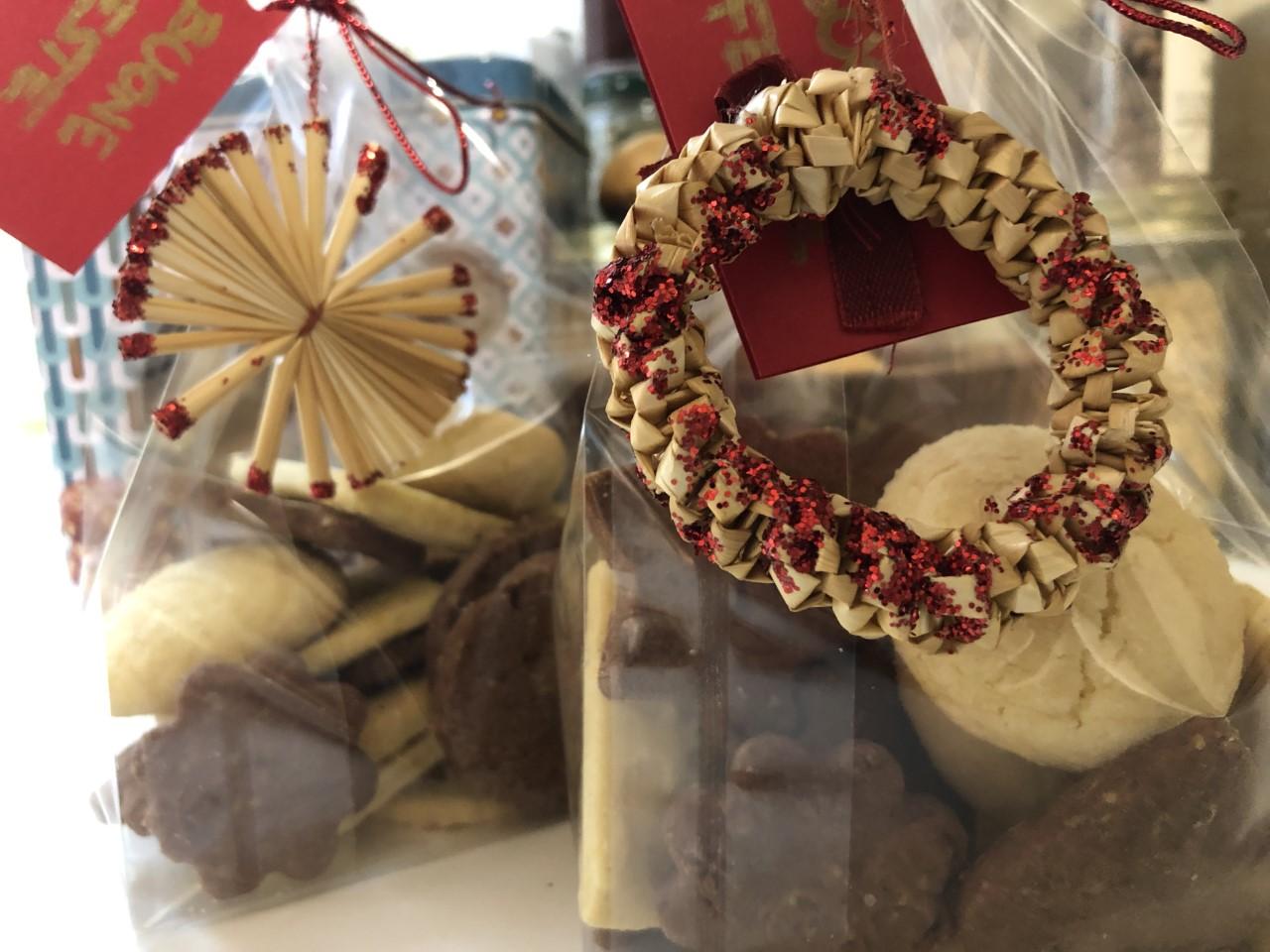 frollini cioccolato e pistacchio